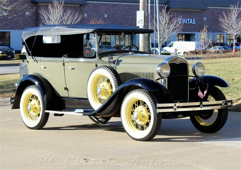 1931 Ford Model A Phaeton Beautifully restored