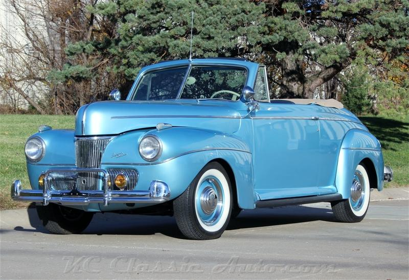 1941 Ford Super Deluxe Convertible  Flat Head V8