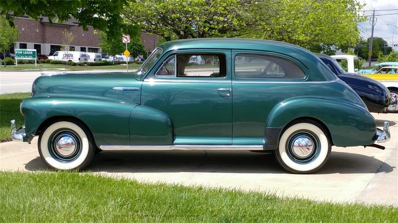 1948 Chevrolet StyleMaster Coupr 3spd