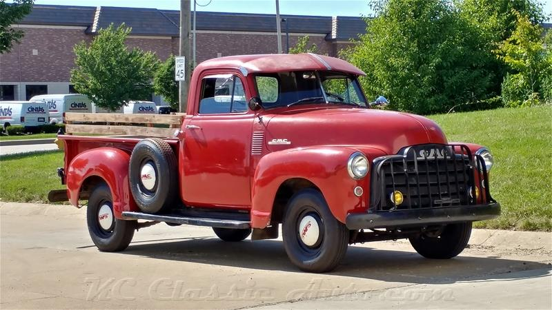 1953 GMC 3100 Pickup Patina!!!