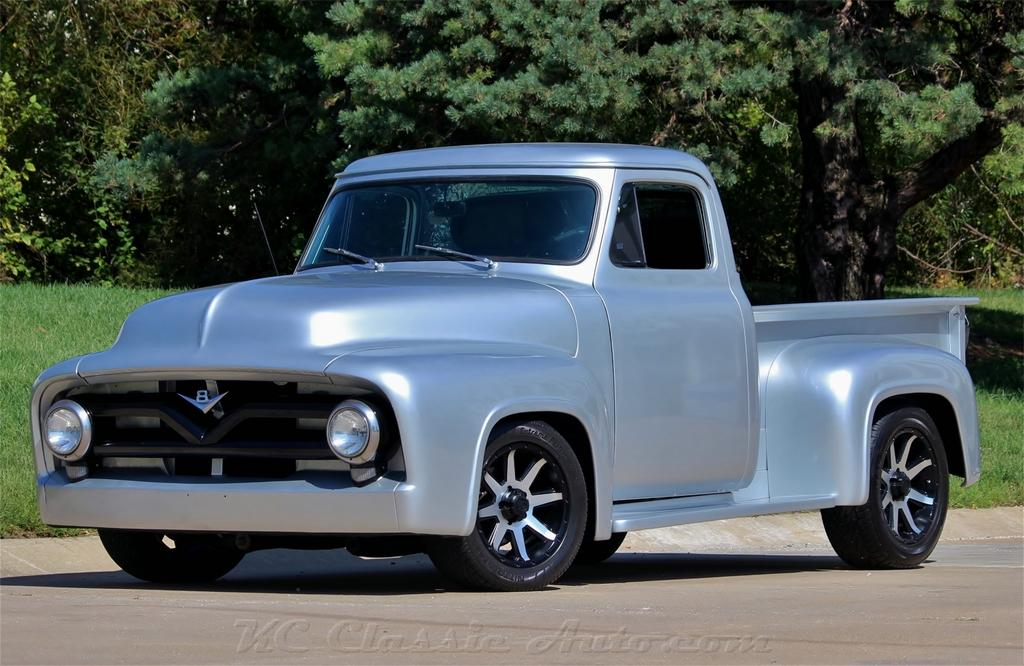 1955 FORD F100 Custom 350V8 AC Automatic for sale, Muscle Cars ...