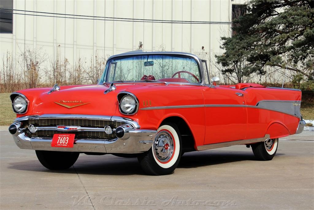 1957 Chevrolet Bel Air Convertible