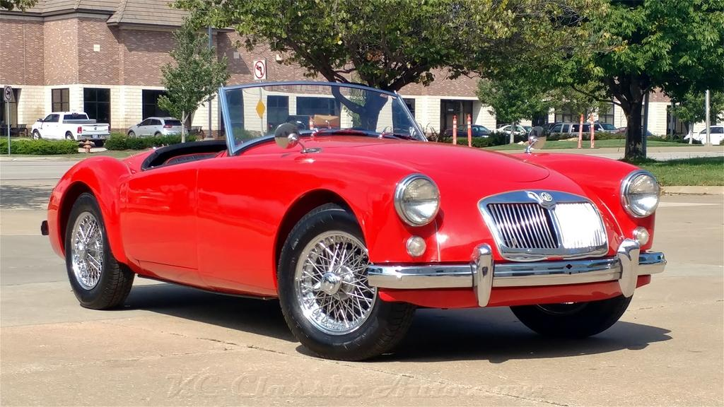 1958 MG A Numbers Matching