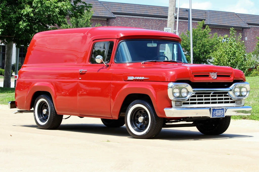 1960 FORD Panel Van Automatic for sale, Muscle Cars ...