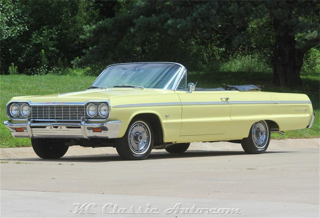1964 Chevrolet Impala SS Convertible  Real SS Numbers Matching Loaded with options