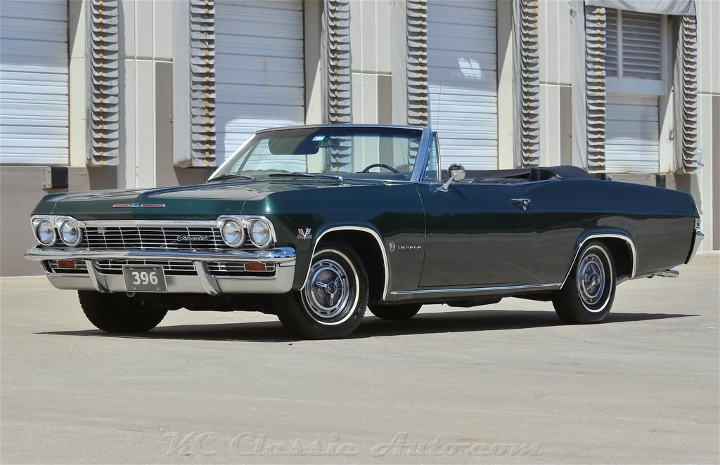 1965 Chevrolet Impala Convertible Big Block 4spd AC