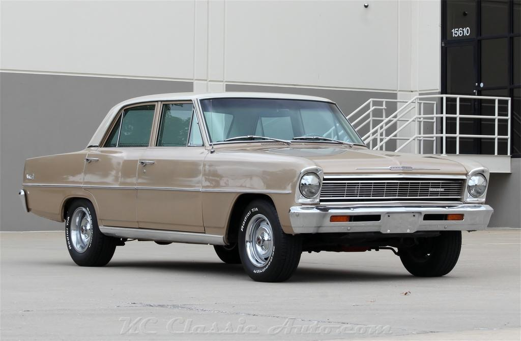 1966 Chevrolet Chevy II Nova Auto Auctal Miles and AC