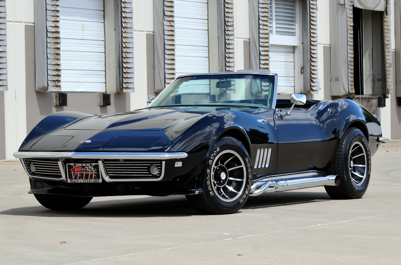 1968 Chevrolet Corvette Convertible  Tremec 5spd