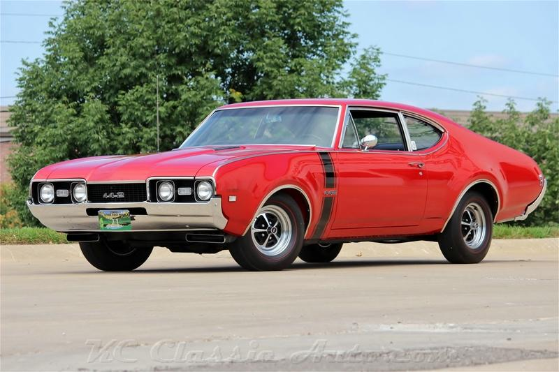 1968 Oldsmobile 442 W30 4spd EXCELLENT CAR