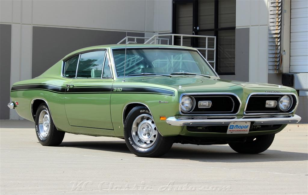 1969 Plymouth Barracuda Commando 340 Automatic with AC