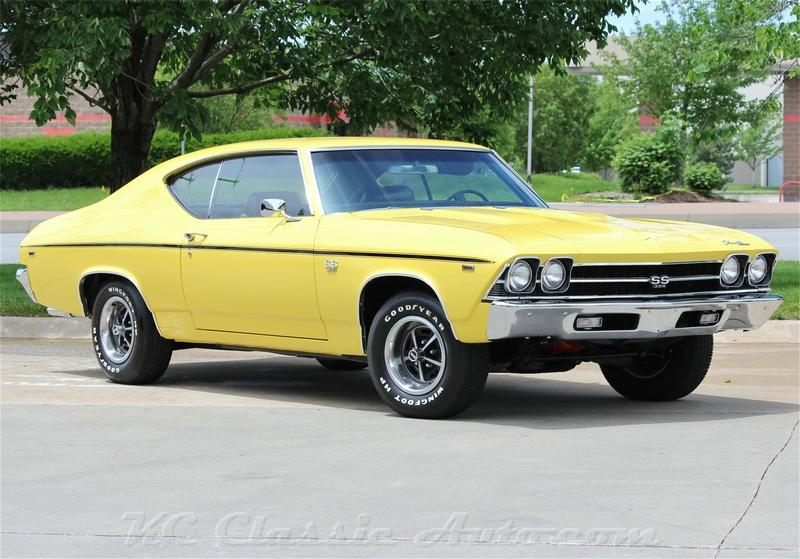 1969 Chevrolet Chevelle SS 396 Automatic