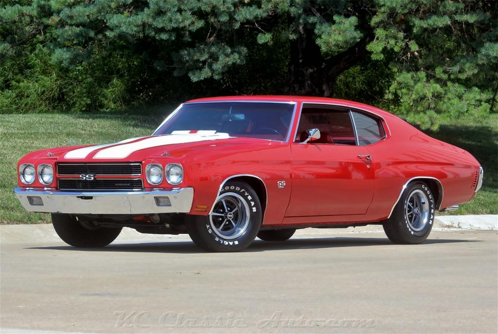 1970 Chevrolet Chevelle SS Build Sheet Real SS 396V8 with AC