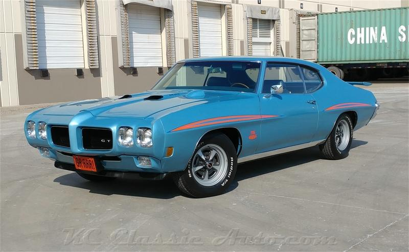 Click for 1970 Pontiac GTO Numbers Matching (400, 4spd)