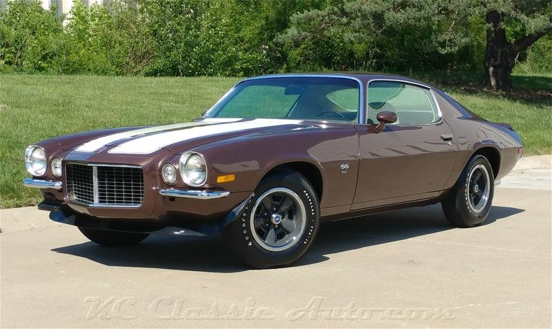 1971 Chevrolet Camaro Restored Rs Ss For Sale Muscle Cars