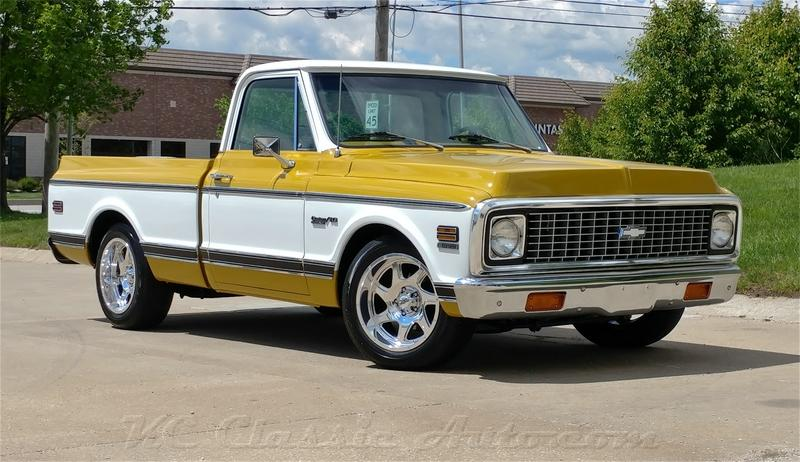 1971 Chevrolet C10 Pickup 350V8 Short Bed AC Excellent Condition.