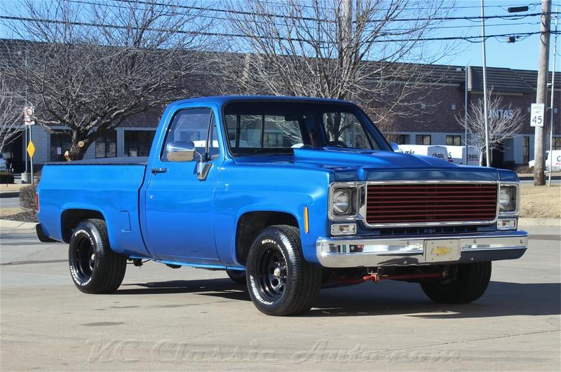 1978 Chevrolet C10 454 Big Block For Sale Muscle Cars