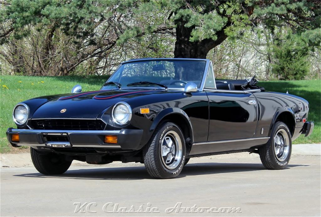 1979 fiat spider 2000 restored twin cam for sale  muscle cars  collector  antique  and vintage